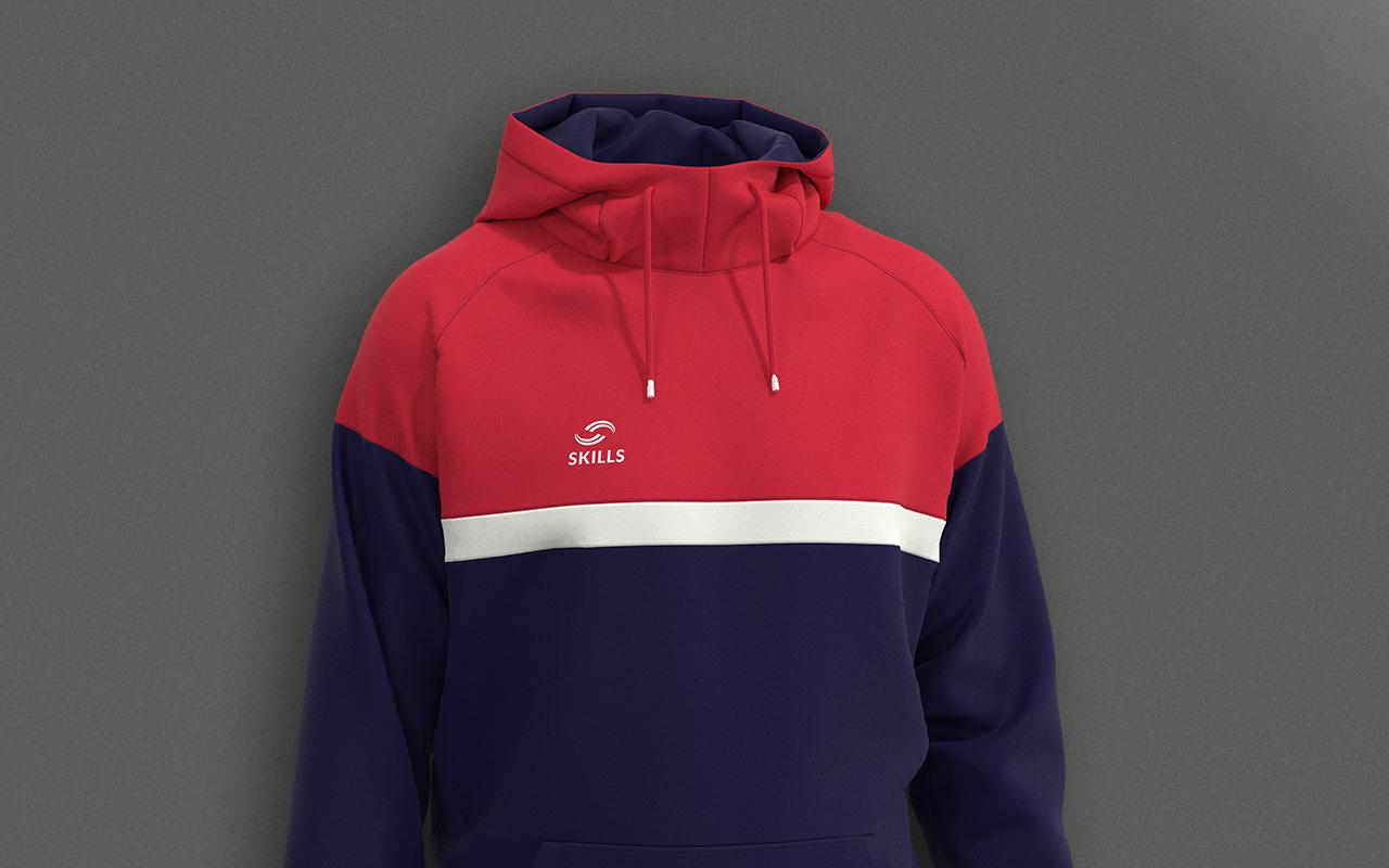 Image de présentation de la ligne Combo, personnalisable aux couleurs des clubs