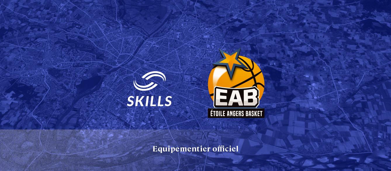 Skills équipementier du club de l'Etoile Angers Basket