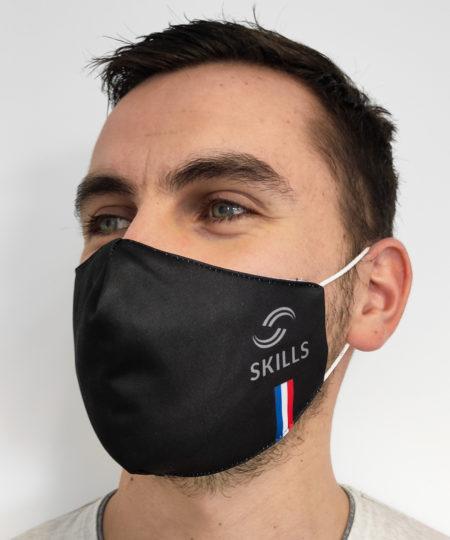 Masque barrière Skills fabriqué en France