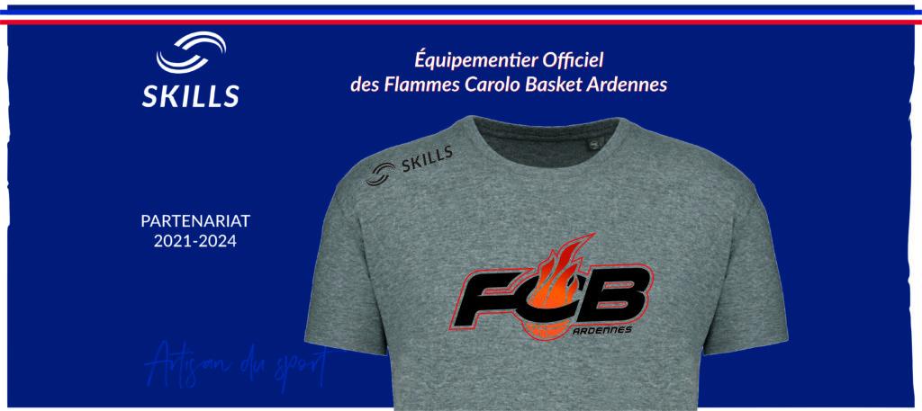 Présentation du partenariat entre les Flammes et Skills